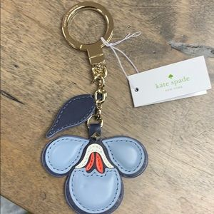 🐕🦺Brand New Kate Spade ♠️ Leather Keychain🐕🦺